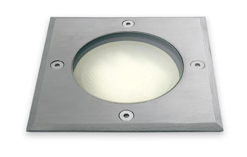 Firstlight 6003ST Walkover Light - 120mm Square - Stainless Steel