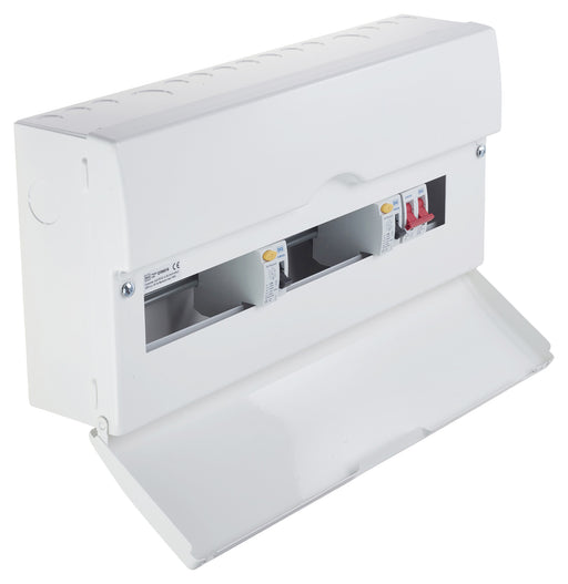 BG CFUD0010 10 Way Flexible Dual RCD Metal Consumer Unit - 16 Module - BG - Sparks Warehouse