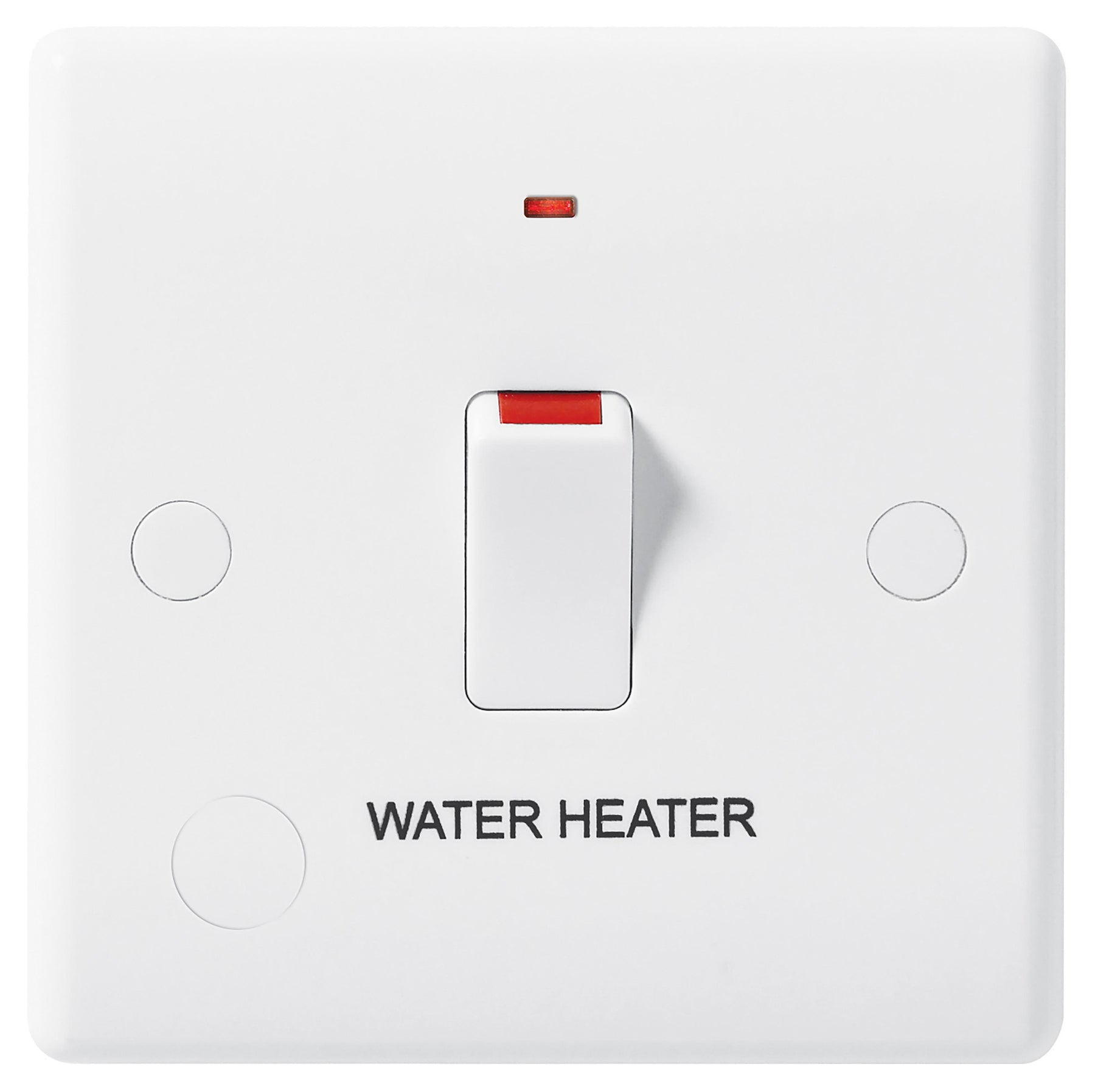 BG Nexus 833WH 20A Double Pole Switched With Indicator FLEX Outlet Labelled  *WATER HEATER* DEEP - BG - Sparks Warehouse