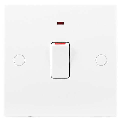 BG Nexus 930 20A Double Pole Switch FLEX Outlet