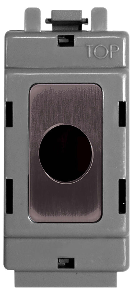 BG Nexus GBNFLEX Grid Black Nickel Flex Outlet Module - BG - sparks-warehouse
