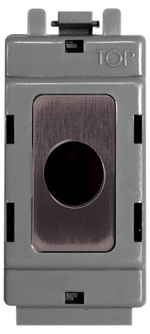 BG Nexus GBNFLEX Grid Black Nickel FLEX OUT Module  UP TO 10MM