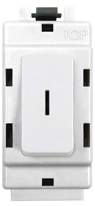 BG Nexus G30KY Grid 20AX 2 Way Double Pole Secret KEY Module  White - BG - sparks-warehouse