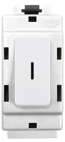 BG Nexus G30KY Grid 20AX 2 Way Double Pole Secret KEY Module  White