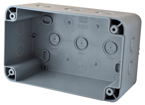 BG WPBJB1 Weatherproof IP55 Junction Box 100MM X 180MM X 110MM