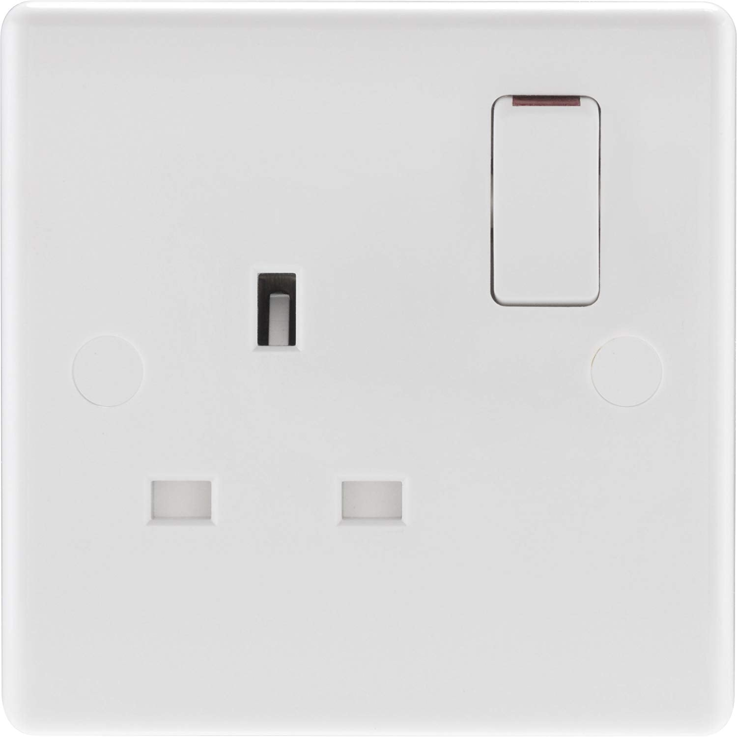 BG Nexus 821 13A Single Pole 1 Gang Switched Socket