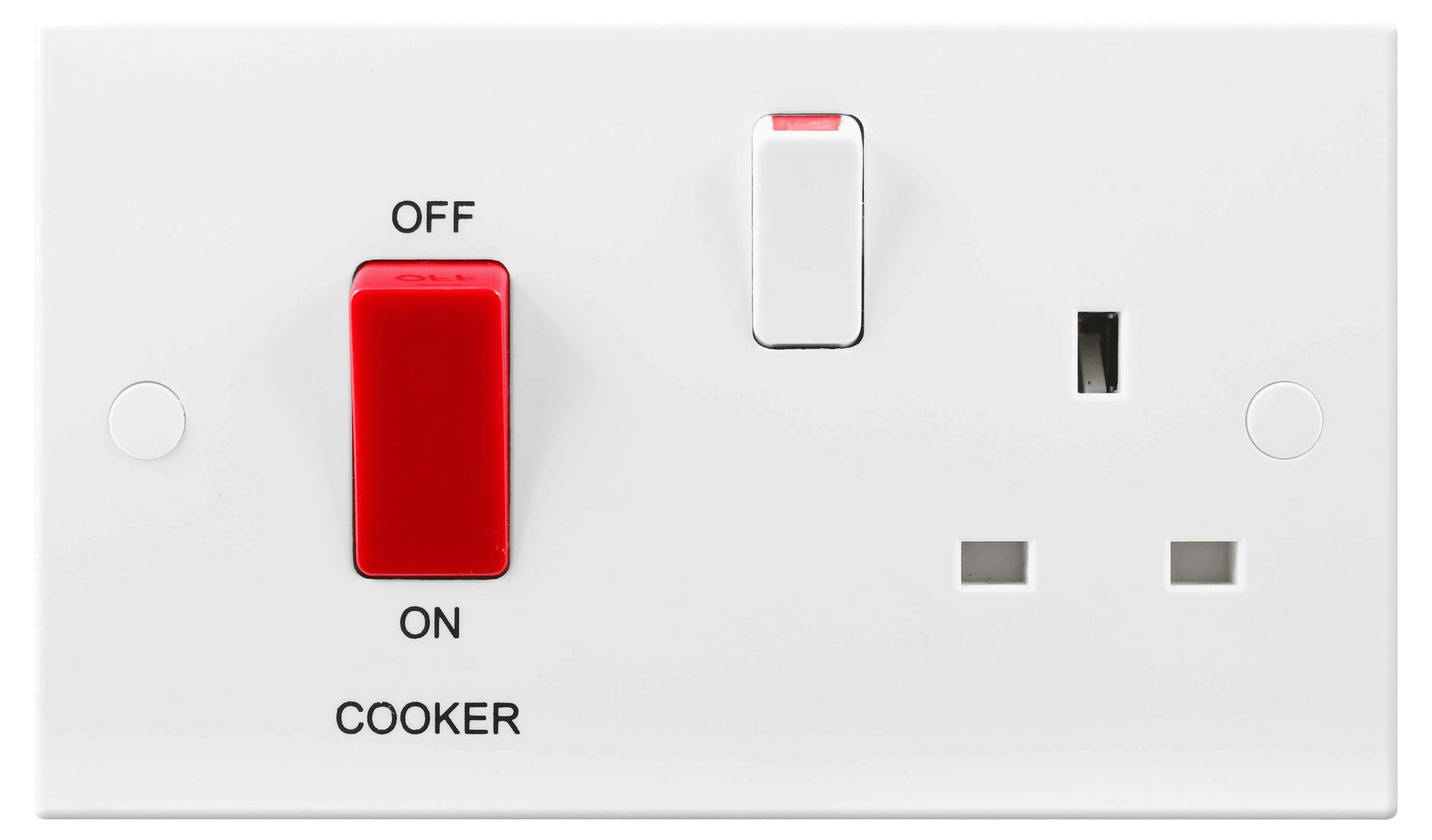 BG Nexus 971 45A Cooker Control Unit 13A Switched Socket - BG - sparks-warehouse