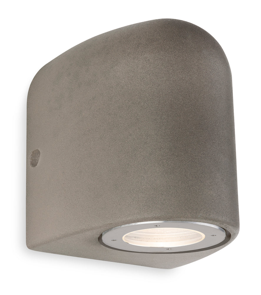 Firstlight 7633CN Marlow Outdoor Wall Light - Concrete Grey - Firstlight - Sparks Warehouse