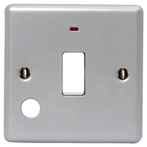 BG MC531 METAL CLAD 20A Double Pole Switch With Power Indicator - BG - Sparks Warehouse