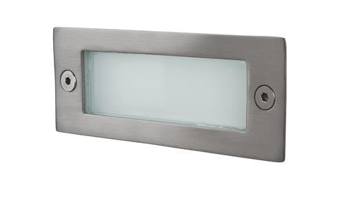 Firstlight 8101ST LED Wall & Step Light - Stainless Steel - Firstlight - sparks-warehouse