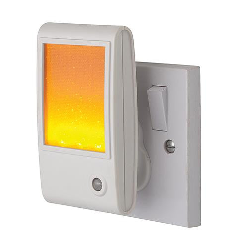 Firstlight 8372AM LED Sparkle Night Light - White with Amber LED - Firstlight - sparks-warehouse