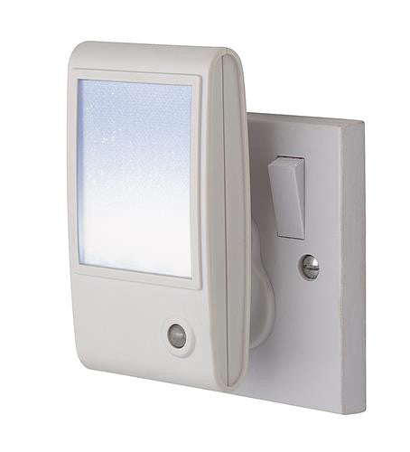 Firstlight 8372WH LED Sparkle Night Light - White with White LED - Firstlight - sparks-warehouse