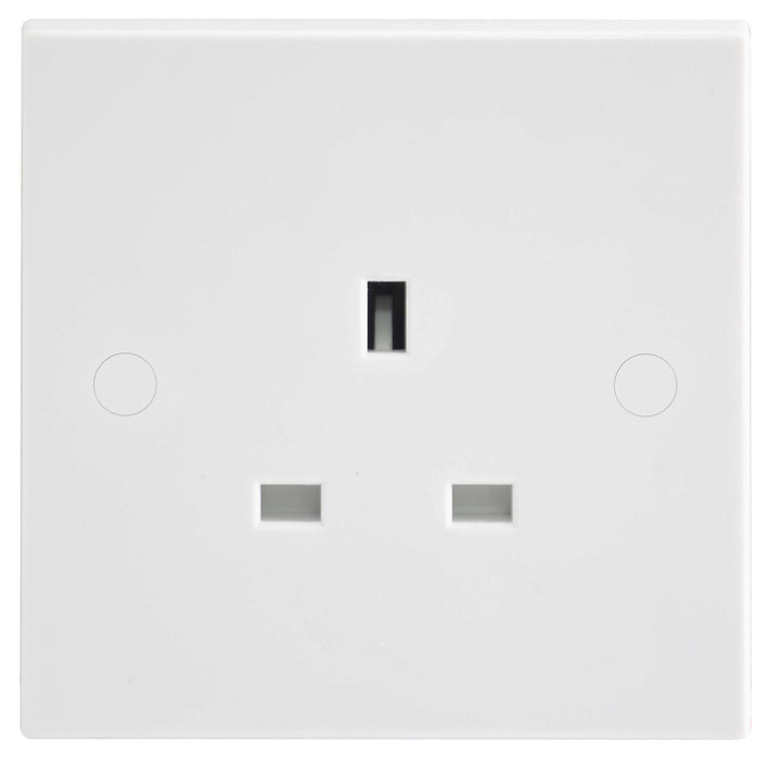BG Nexus 923 13A 1 Gang Unswitched Socket - BG - sparks-warehouse