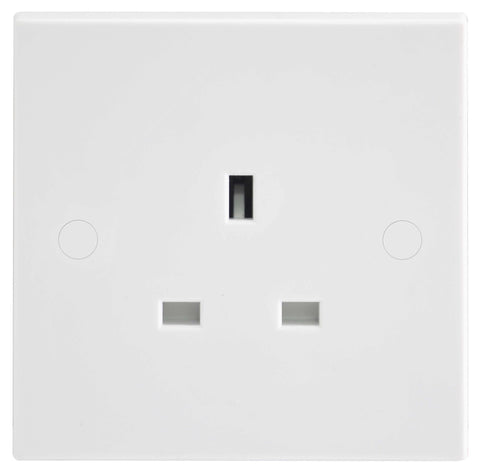 BG Nexus 923 13A 1 Gang Unswitched Socket