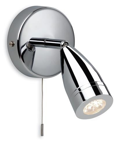 Firstlight 8381CH Storm LED Single Spot - Chrome