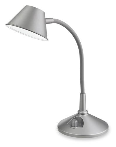 Firstlight 8643SI Curlie LED Table Lamp - Silver - Firstlight - sparks-warehouse