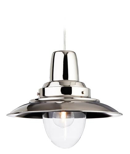 Firstlight 8645CH Fisherman Pendant - Chrome with Clear Glass - Firstlight - sparks-warehouse