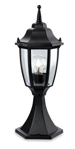Firstlight 8664BK Faro Lantern - Pillar - Black - Firstlight - sparks-warehouse