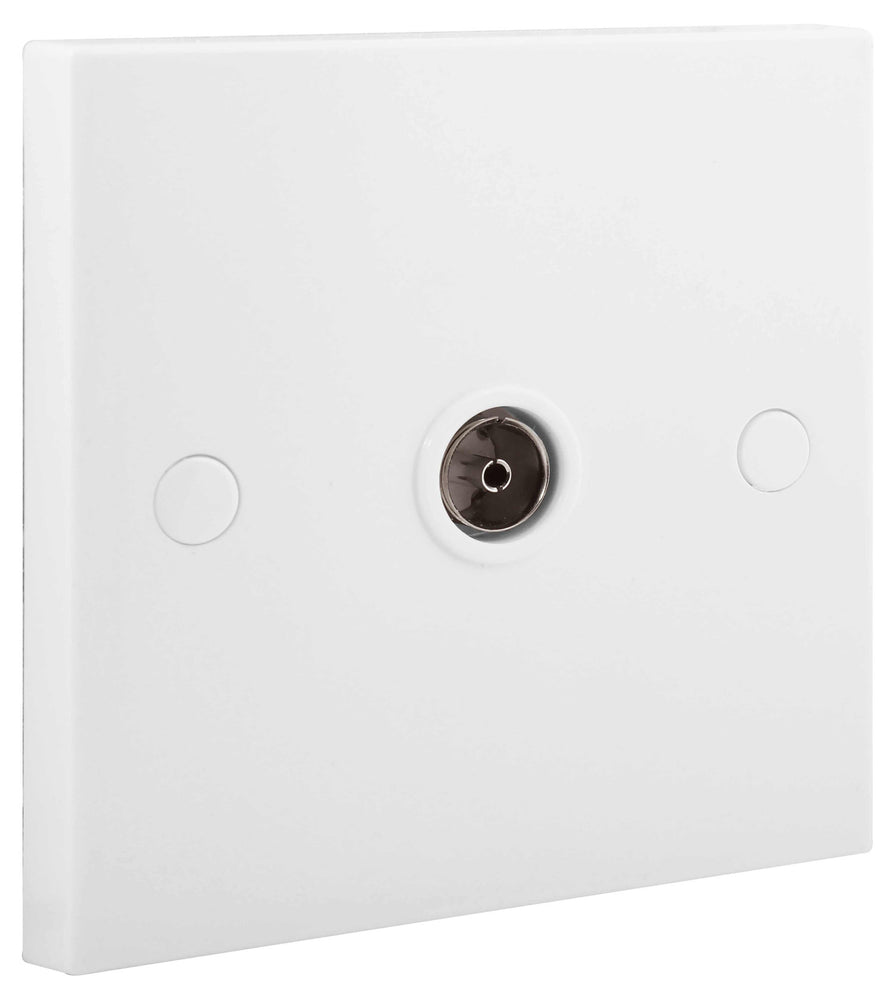 BG Nexus 962 1 Gang ISOLATED CO-AXIAL Socket