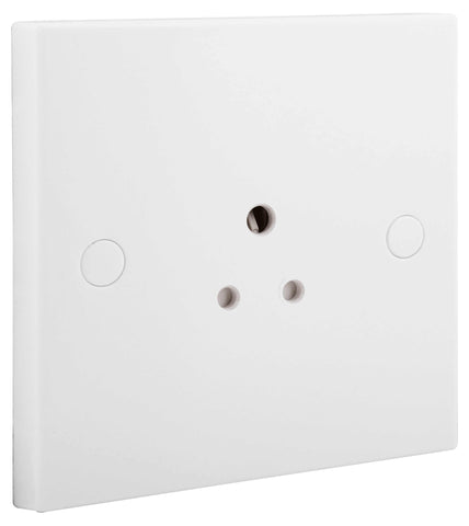 BG Nexus 9282A 1 Gang Unswitched Socket ROUND PIN