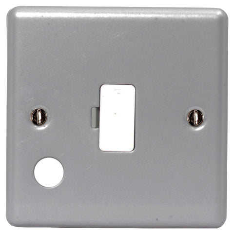 BG MC552F METAL CLAD FUSED Connection Unit Unswitched With FLEX Outlet And BLANK