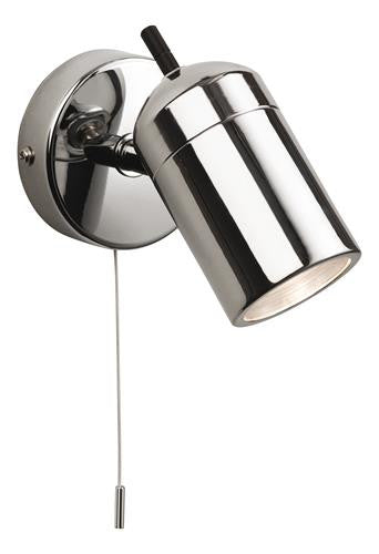 Firstlight 9050CH Atlantic Single Spot (Switched) - Chrome - Firstlight - sparks-warehouse