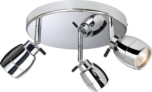 Firstlight 9503CH Marine 3 Light Flush - Chrome - Firstlight - sparks-warehouse