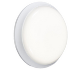 Knightsbridge BL20LEDE 230V 20W IP54 Round LED Bulkhead - Emergency