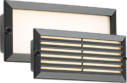Knightsbridge BLED5BW 230V IP54 5W White LED Brick Light - Black Fascia - Knightsbridge - Sparks Warehouse
