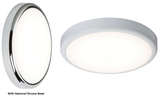 Knightsbridge BT20DEMS 230V IP44 20W Trade LED Flush Emergency + Sensor 6000K (380MM)