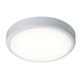 Knightsbridge BT20S 230V IP44 20W Trade LED Flush C/W Sensor 4000K (380MM)