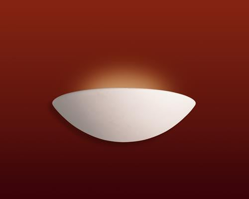 Firstlight C314UN Ceramic Wall Light - 100w - Unglazed