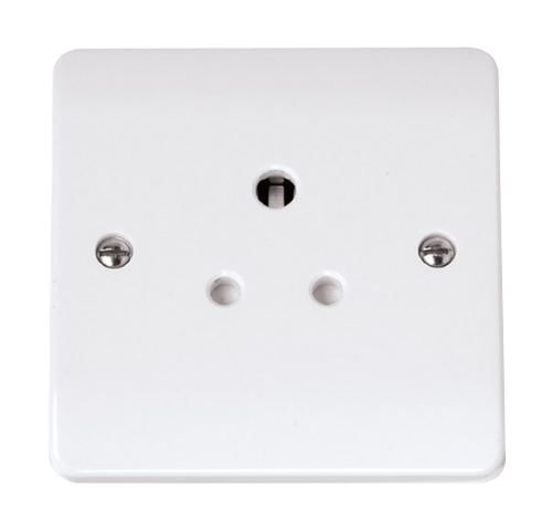 Scolmore CCA038 - 5A Round Pin Socket Outlet - Scolmore - Sparks Warehouse