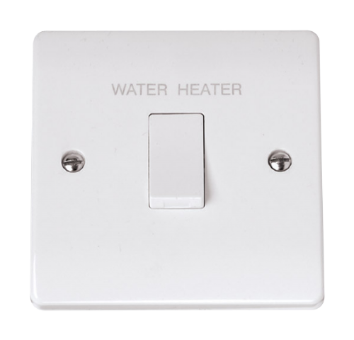 Scolmore CCA040 - 20A DP 'Water Heater' Switch - Scolmore - Sparks Warehouse