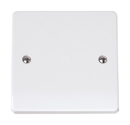 Scolmore CCA060 - 1 Gang Blank Plate - Scolmore - Sparks Warehouse