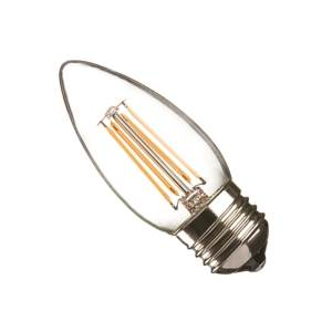 Casell CL4ES-82DP-CA Filament E27 Dimmable LED Candle 240v 4w - Casell - Sparks Warehouse