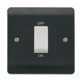 Scolmore CMA500AG - 45A 1 Gang DP Switch