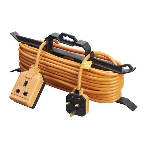 BG Masterplug CT1513 13A 1 Gang 15M 13A Extension Lead With Cable Tidy - BG - Sparks Warehouse