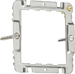 Knightsbridge CUG1F 1-2G Grid Mounting Frame for Curved Edge Switches