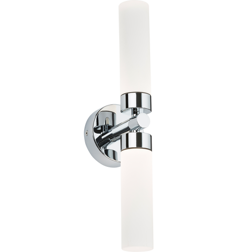 Knightsbridge CWL2 2 x 3W LED Twin Bathroom Wall Light - IP44 - Knightsbridge - Sparks Warehouse