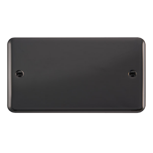 Scolmore DPBN061 - 2 Gang Blank Plate - Scolmore - Sparks Warehouse