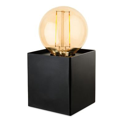 Firstlight 5926BK Richmond Table Lamp with LED Vintage Filament Lamp