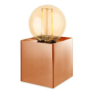 Firstlight 5926CP Richmond Table Lamp with LED Vintage Filament Lamp - Copper
