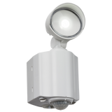 Knightsbridge FL8W IP44 8W LED Spot White Security Light with PIR
