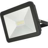 Knightsbridge FLF100 IP65 100W LED Black Die-Cast Aluminium FloodLight 4000K