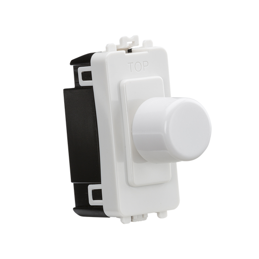 Knightsbridge GDM022U 6A 1G 2-way Dummy Dimmer Module - White - Knightsbridge - Sparks Warehouse