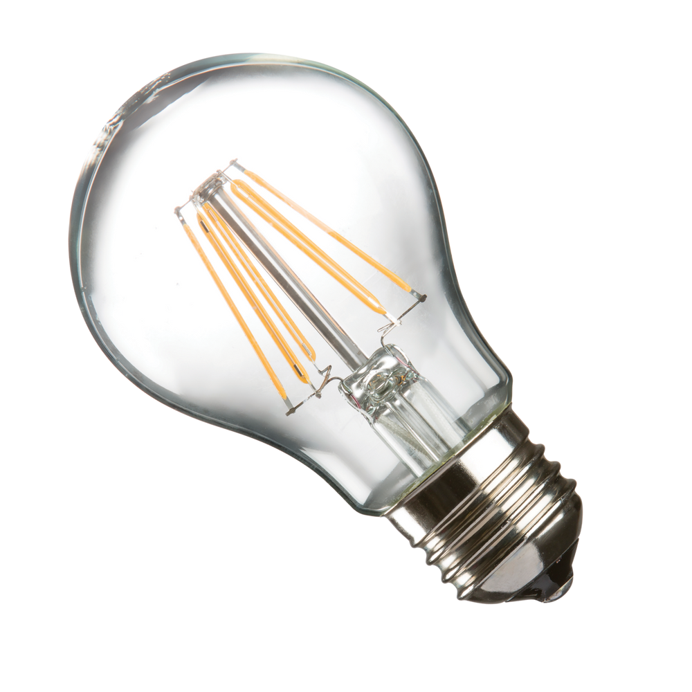Casell GLL8ES-82D-CA - 8W ES / E27 Clear Dimmable LED GLS Light Bulb - Casell - Sparks Warehouse
