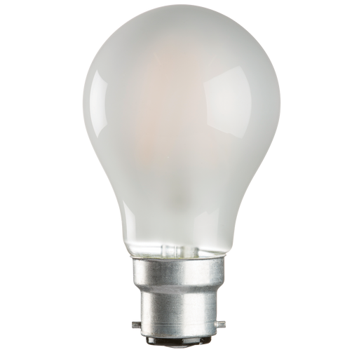 Knightsbridge GLS6BCO 230V 6W LED 60mm GLS BC Frosted - Knightsbridge - sparks-warehouse