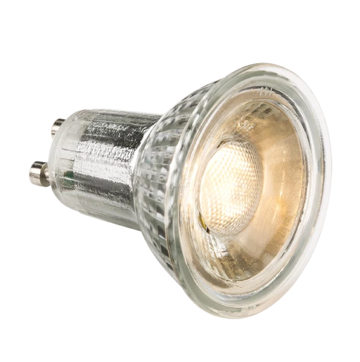 Knightsbridge GUC5DCW 230V 5W GU10 Glass LED 4000K (dimmable) - Knightsbridge - Sparks Warehouse