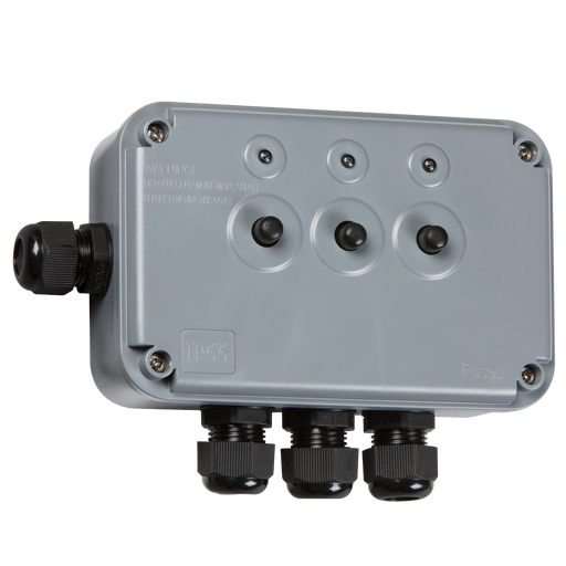 Knightsbridge IP3G IP66 13A 3G Switch BOX - Knightsbridge - sparks-warehouse